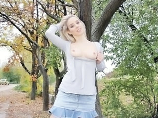 Cute Outdoor Pov Public Teen Public