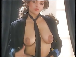 Amazing Big Tits  Natural Pornstar  Stripper Uniform Vintage British