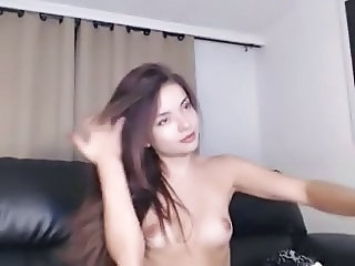Cute Latina Skinny Small Tits Solo Teen Webcam