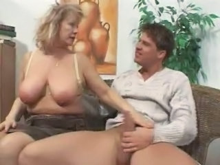 Big Tits European German Mature Mom Natural Old and Young  German