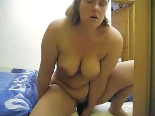 Chubby Masturbating  Mom  Solo Webcam Son