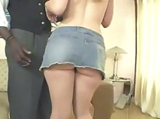 Ass Interracial Skirt