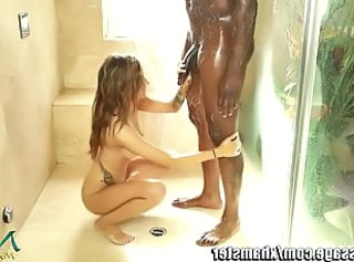 Babe  Handjob Interracial Showers Tattoo