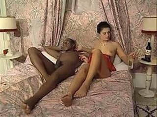 Drunk Interracial Vintage Wife French