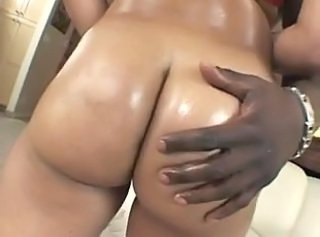 Ass Ebony Oiled