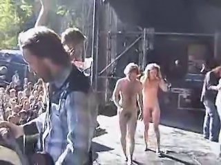 Amateur Nudist Party Public