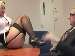 Daddy  Office Secretary Stockings Domination