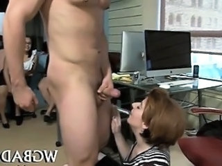 Blowjob   Office Party Secretary Wild