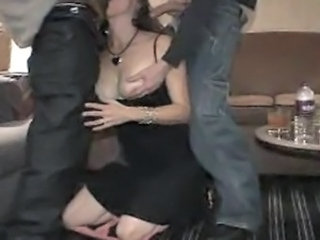Amateur  Blowjob Clothed Cuckold  Threesome Wife