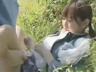 Asian Clothed Japanese Outdoor Teen