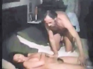 Daddy Daughter Hairy Old and Young Sleeping Vintage Daddy Dirty