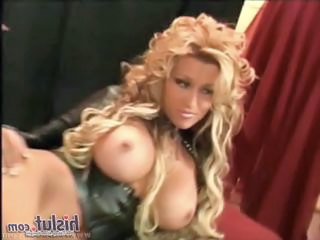 Amazing Big Tits Corset Latex  Pornstar