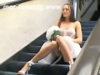 Bride Double Penetration  Threesome