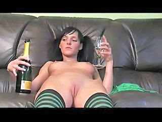 Drunk Shaved Teen Stockings
