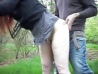 Amateur Clothed Doggystyle Older Outdoor Wife Outdoor