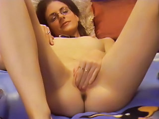 Glasses Masturbating Solo Webcam Wife European