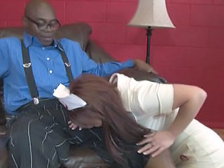 Blowjob Clothed Daddy Interracial Nurse Uniform