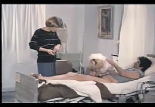 Blowjob Clothed  Nurse Threesome Uniform Vintage