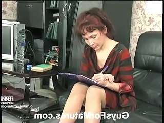 Mature Mom Old and Young Redhead Russian Kinky