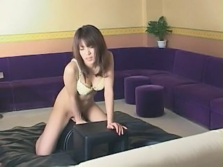 Asian Machine Masturbating Solo Teen Sybian