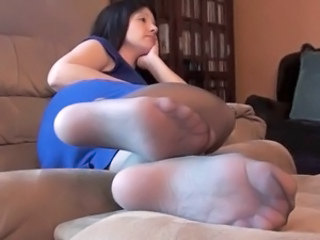 Feet Fetish Stockings Nylon