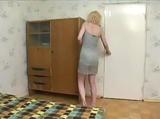 Amateur Homemade Mature Mom Old and Young Son Mother
