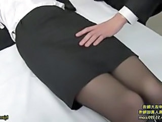 Asian Pantyhose Secretary Pantyhose