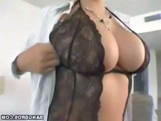 Amazing Big Tits Lingerie  Pornstar Stripper