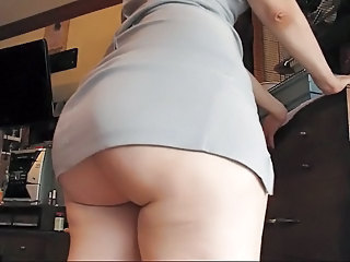 Amateur Ass  Dancing Homemade Dress