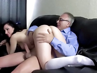 Ass Daddy Old and Young Teacher Teen Senior