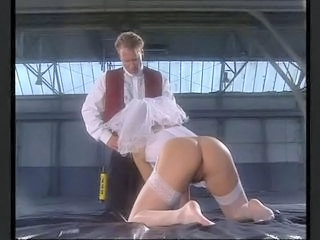 Ass Blowjob Bride Clothed  Stockings Vintage