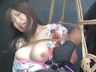 Asian Bondage Nipples Slave