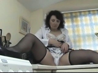 Lingerie Mature Mom Panty Stockings Stockings