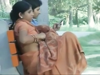 Amateur Indian Outdoor Public Wife