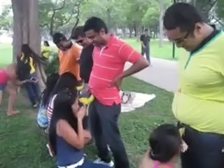 Blowjob Clothed Groupsex Indian Orgy Outdoor Party Public