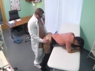 Clothed Doctor Doggystyle Czech Married