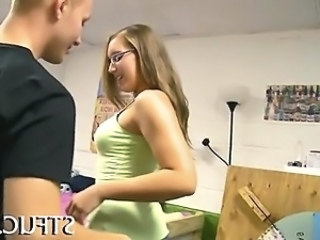 Glasses Student Teen