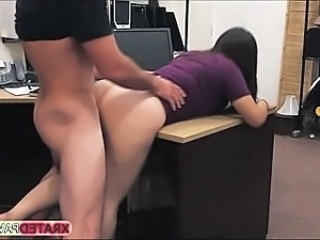 Amateur Clothed Doggystyle Office
