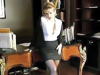 Big Tits  Office Secretary Skirt