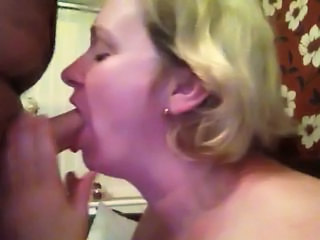 Amateur Blowjob Homemade Mature Wife Boss