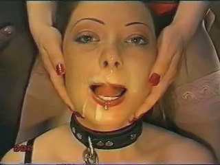 Cumshot Fetish Slave Swallow
