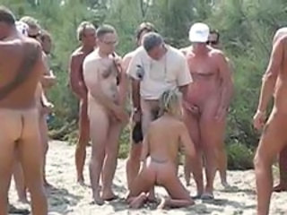 Amateur Beach Blowjob Cuckold Gangbang Nudist Outdoor Wife