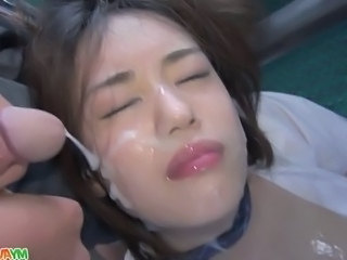 Asian Cumshot Facial Teen Schoolgirl