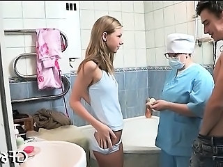 Bathroom Doctor Girlfriend Teen