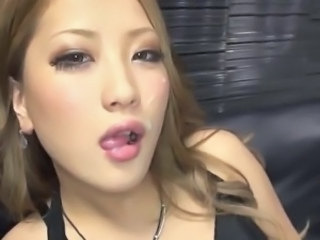 Amazing Asian Cumshot Facial Cute Japanese  Swallow