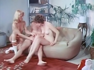 Handjob Teen Threesome Vintage