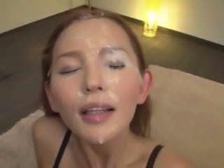 Asian Bukkake Cumshot Facial Japanese