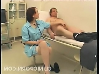 Babe Daddy Handjob Nurse Old and Young Small cock Stockings Uniform