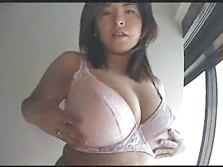 Asian Big Tits Lingerie  Natural Wife