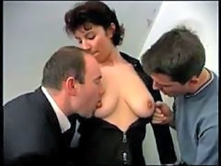 Double Penetration French Natural French Mature French